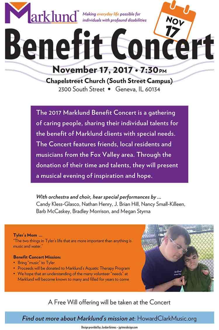 HCM Marklund Benefit Concert Poster Print